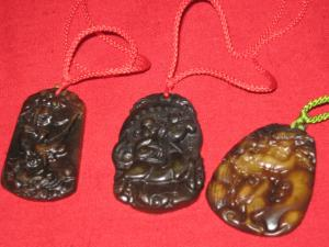 Coliere feng shui din agate - 2