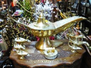 Lampa lui Aladin, din alama