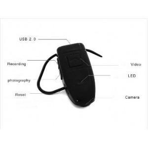 Casca Bluetooth Cu Camera Spion