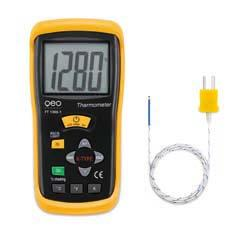 Termometru profesional Tip K cu o valoare masurata tip FT 1300-1