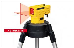 Laser autonivelant liniar in cruce