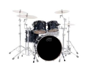 Set de tobe DW Performance Fusion Satin Oil BKD