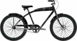 "FELT BICICLETA CRUISER MARPAT, 26"", 3 SPEED, GLOSS BLACK"