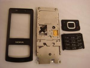 Nokia 6500s Kit With Front Cover  Complete Slide Assy And Complete Keypad Swap Original (nokia 6500 Slide 4 Piese )