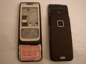 Carcasa Originala Nokia E65 (mijloc Si Tastatura) (14 Zile)