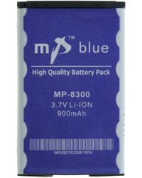 Acumulator Blackberry 8300+altele(8700 8310 8320 7130) Mp Blue