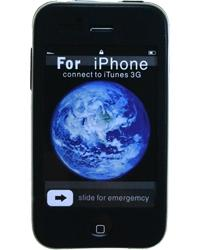 Husa silicon iphone 3g neagra