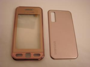 Carcasa samsung s5230 pink