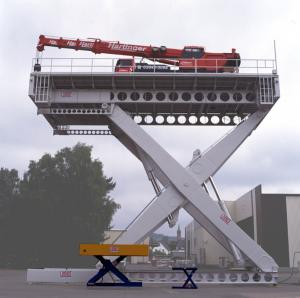 Lifturi hidraulice specializate