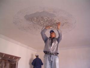 Tencuieli decorative interior
