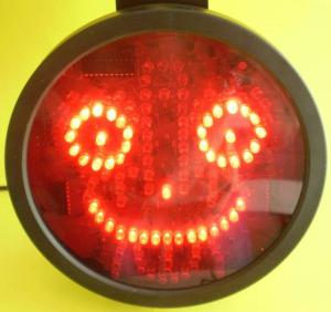 Zambaret, panou afisaj mesaje LED