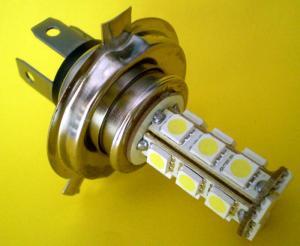 Bec auto H4 LED alb