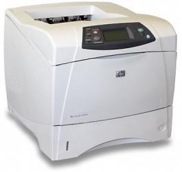 Imprimanta HP LaserJet 4250N Second Hand, Retea, Monocrom