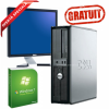 "GRATUIT Win 7 HOME - Dell Optiplex second ieftin C2D 3.0, 2 Gb DDR3, 160 HDD, DVDRW, 19"" DELL 1908"