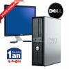 """Oferta  SISTEM Dell Optiplex second hand ieftin C2D 3.0, 3 Gb DDR2, 250 HDD, DVDRW, 19"""" DELL 1908"""