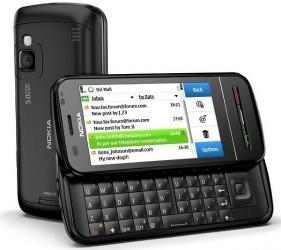 NOKIA SMART PHONE C6-00 WHITE,black 3G