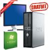 "GRATUIT Win 7 HOMEpe Dell Optiplex second ieftin C2D 3.0, 3 Gb DDR2, 250 HDD, DVDRW, 19"" DELL 1908"