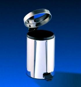 Cos inox pedala 12 litri