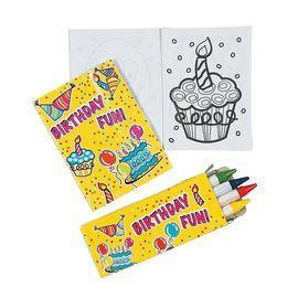 Seturi de colorare mini Happy Birthday
