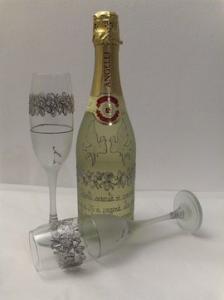 Cadouri nunta de argint pahare