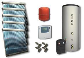 Instalatii solare heat pipe