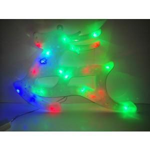 Ren decoratiune Craciun LED