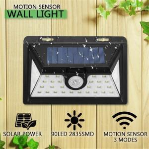 Lampa solara cu senzor de miscare 34 leduri