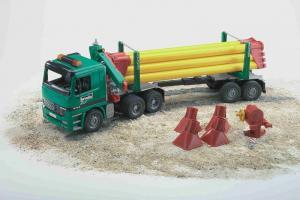 Transport cu camionul cu macara