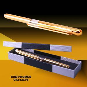 Pix clasic, cu capac, placat cu aur 24 K