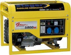 Generator curent benzina monofazat Stager GG 7500