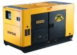 Generator curent diesel UltraSilent Kipor KDE 60 SS3