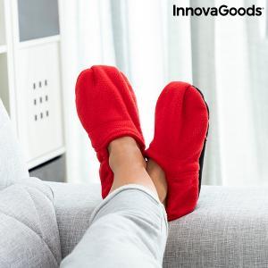 Papuci de casa cu posibilitate de incalzire in cuptorul cu microunde