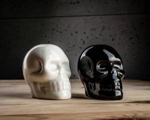 Set recipiente de sare si piper Craniu