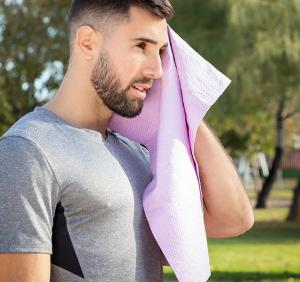 Prosop fitness cu racire instantanee efect gheata Kowel