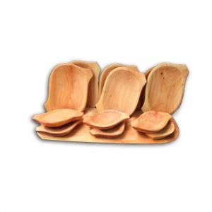 Set platou din lemn 13 piese