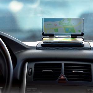 Suport auto pentru telefon cu oglinda