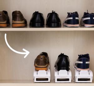 Organizator de pantofi reglabil Shoe Rack InnovaGoods (6 perechi)