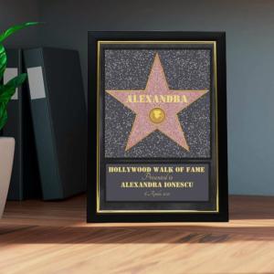 Rama foto personalizata Hollywood- A4-