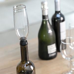 Dop din sticla pentru sticle Pahar Glam