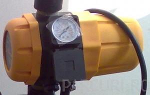 Presostat electronic (kit hidrofor) pentru automatizarea pompelor de apa.