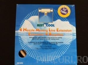Kit de extensie a perdelelor de ceata Mist & Cool pentru racirea teraselor si suprafetelor exterioare