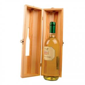 Cutie lemn pentru o sticla de vin 84028