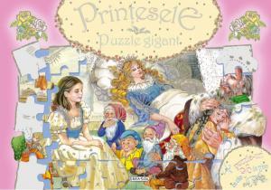 PRINTESELE - PUZZLE GIGANT