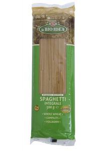 Spaghetti bio din grau dur integral