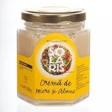 Crema de miere si alune