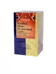Ceai bio Rooibos - Sarut de ciocolata