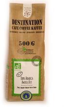Cafea bio Destination Naturela macinata 500g