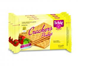 "Crackers fara gluten ""Crackers pocket"""