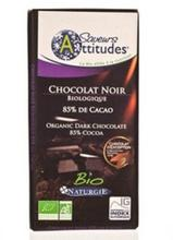 Ciocolata bio neagra 85% cacao IGS