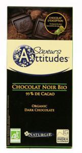 Ciocolata bio neagra 99% cacao IGS